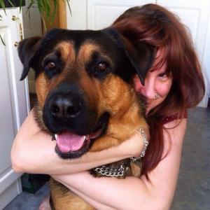 Mia & hennes ex hund Morris