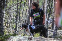 Susanne och Faks tävlar sitt tredje SM i sök.