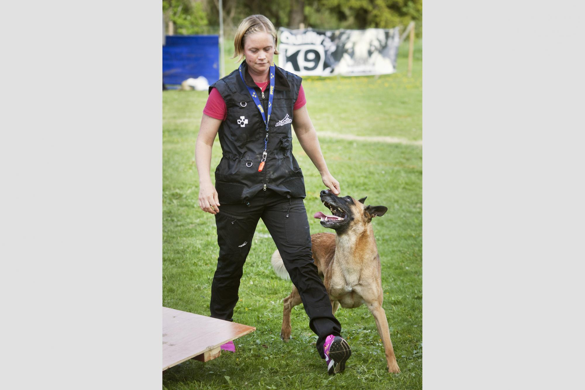 Emma Svenssons hund Magi, Magic V D Berlex-Hoeve fick maxpoäng i momentet \