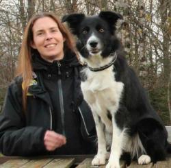 Jenny Lindberg är ansvarig för årets skolhunds SM.